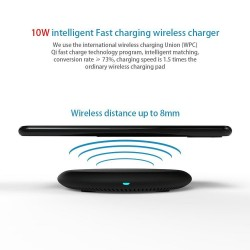 Qi mobile fast charging pad