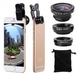 Smartphone Camera Lens 3 in 1