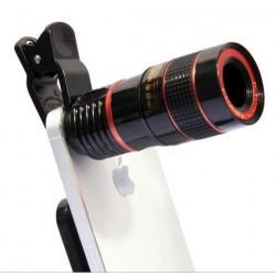 8x Zoom optische telelens...