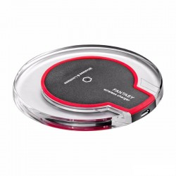Small qi mobile charging pad
